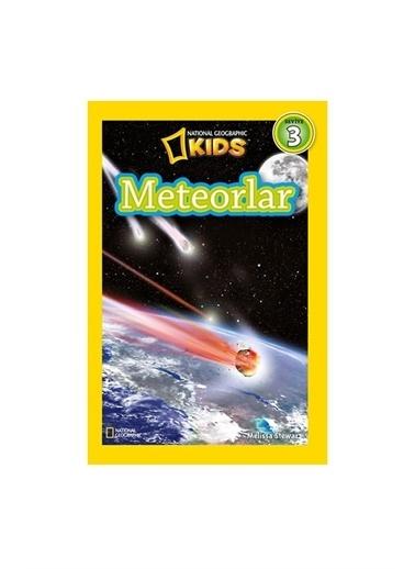 National Geographic National Geography Kıds Seviye 3 Meteorlar Beta Yayınları Melissa Stewart Renkli